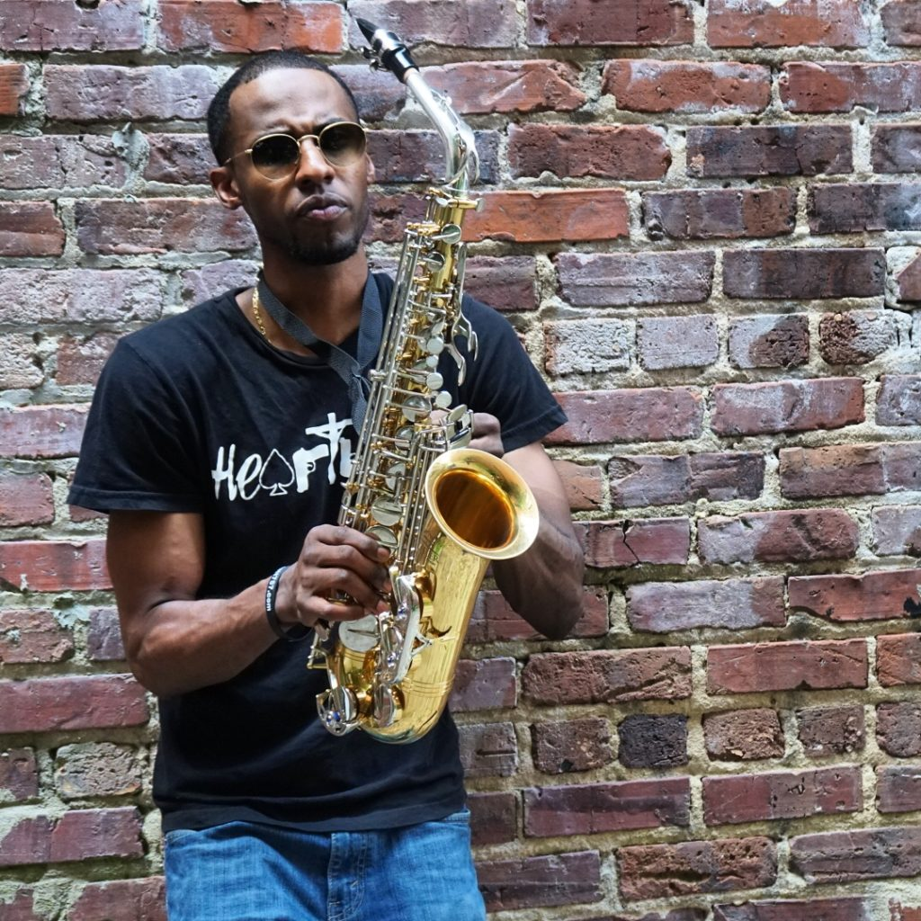 Mike G Saxophonist 3